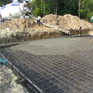Сколько стоит кубометр бетона для заливки фундамента?