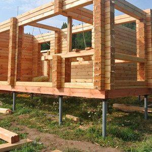 Сколько стоит построить фундамент на сваях?