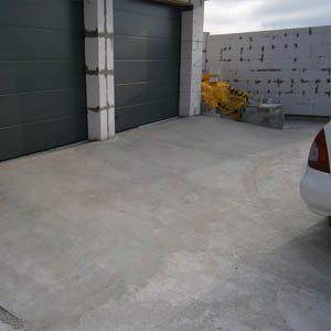 Бетонирование стоянки для автомобилей
