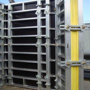 Алюминиевая строительная опалубка