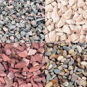 Разновидности строительного щебня