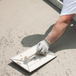Железнение поверхностей из бетона