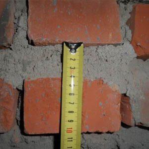 Какой толщины должны быть швы в кирпичной кладке?