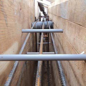 ПВХ трубки для сооружения опалубки
