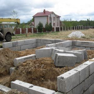 Какой фундамент выбрать для газобетонного дома?