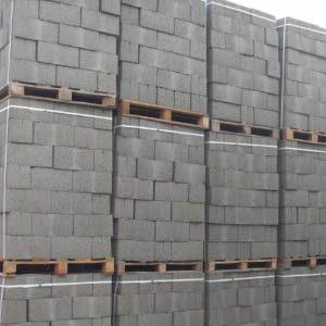 Количество шлакобетонных блоков в 1 м3