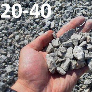 Гранитный щебень фракции 20-40 мм