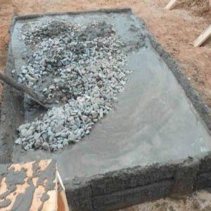 Количество щебня в 1 м3 бетона