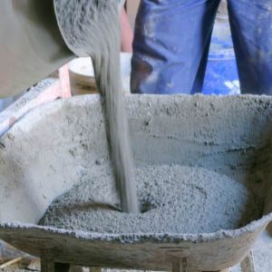 Таблица веса 1 кубометра бетона