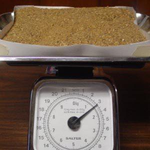 Вес 1 м3 строительного песка